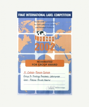 GROUP AWARD NOMINATION - FINAT 2002